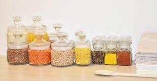 Getreide und Gewürz Stockbilder