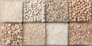 Getreide und Hülsenfrüchte Lizenzfreie Stockfotos