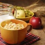 Getreide und Milch Stockbilder