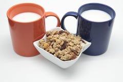 Getreidefrühstück Lizenzfreies Stockfoto