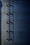 Getreidespeicher auf Bauernhof für die Landwirtschaft und Lagerung des Weizens Lizenzfreie Stockbilder
