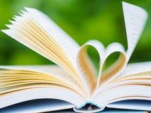 getrennte alte Bücher Stockfoto