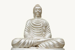 Getrennte Buddha-Statue Stockfotos