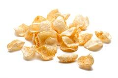 Getrennte Chips Lizenzfreie Stockbilder
