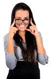 Getrennte Geschäftsfrau Stockbilder