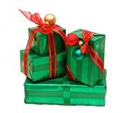 Getrennte Geschenke Stockbilder