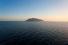 Getrennte Insel Stockbilder