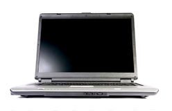 Getrennte Laptop-Computer Lizenzfreies Stockbild