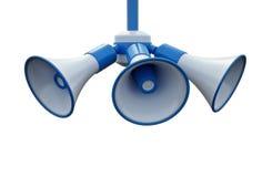 Getrennte Lautsprecher lizenzfreie abbildung