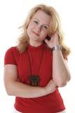Getrennte Portraits reifen Frau Lizenzfreie Stockfotografie