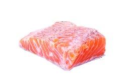 Getrennte rohe Fische Stockbilder