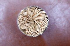 Getrennte Toothpicks Lizenzfreies Stockfoto