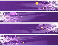 Getrennte Visitenkarten Stockbild