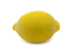 Getrennte vollständige Zitrone lizenzfreie stockbilder