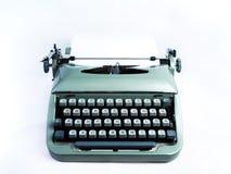 Getrennte Weinlese-Schreibmaschine Lizenzfreie Stockfotos