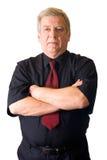 Getrennter älterer Geschäftsmann Stockbilder