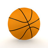 Getrennter Basketball Lizenzfreies Stockfoto