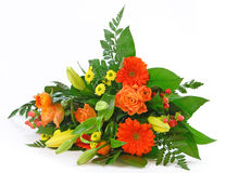 Getrennter Blumenstrauß Lizenzfreie Stockbilder