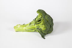 Getrennter frischer Brokkoli Stockbild