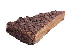 Getrennter Kuchen Stockfoto