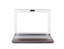 Getrennter Laptop Lizenzfreies Stockbild