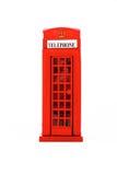 Getrennter London-Telefon-Stand Lizenzfreie Stockfotografie