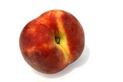Getrennter Pfirsich lizenzfreies stockbild