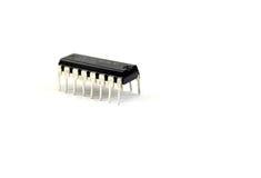 Getrenntes Chipset stockfotografie