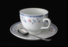 Getrenntes Cup und Saucer Lizenzfreies Stockbild
