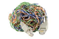 Getrenntes Digitalnetzweltkonzept Lizenzfreie Stockfotografie