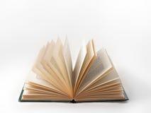 Getrenntes geöffnetes Buch Stockfoto