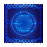 Getrenntes Kondom stock abbildung