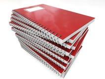 Getrenntes Notizbuch Lizenzfreie Stockbilder