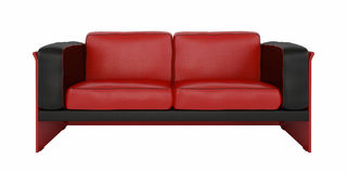 Getrenntes Sofa Lizenzfreie Stockbilder