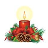 Getrenntes Weihnachtsset Stockfotografie