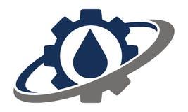 Getriebeöl-Lösung Lizenzfreies Stockfoto