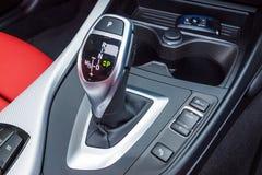 Getriebe BMWs M140i 2017 Lizenzfreies Stockfoto