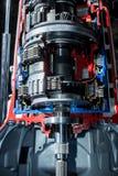 Getriebe der Autodachansicht Stockfotografie