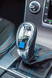 Getriebe Volvos S60 2017 Lizenzfreies Stockfoto
