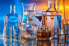 Getränke in der Bar Stockbilder