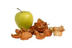 Getrocknete Äpfel stockfoto