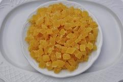Getrocknete Ananas stockfoto
