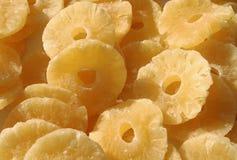 Getrocknete Ananas stockfotografie