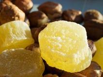 Getrocknete Ananas Stockbild