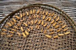 Getrocknete Banane Stockbilder