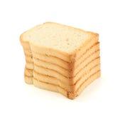 Getrocknete Brotscheiben Stockfotografie
