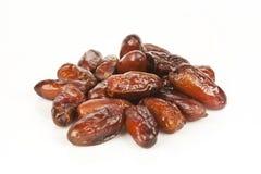 Getrocknete Dattelpalmefrüchte oder kurma, (ramazan) Lebensmittel Ramadans lizenzfreie stockfotos