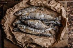 Getrocknete Fische Stockbilder
