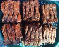 Getrocknete Fische lizenzfreie stockfotos