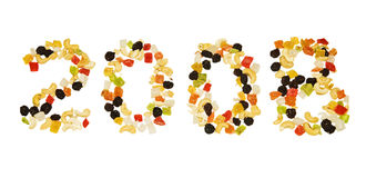 Getrocknete Früchte 2008 Stockfotografie